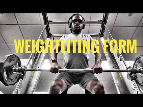What is Good Form When Lifting Weights