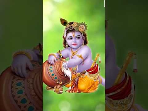 Krishna, Free 4D Mobile App, Live WallPaper