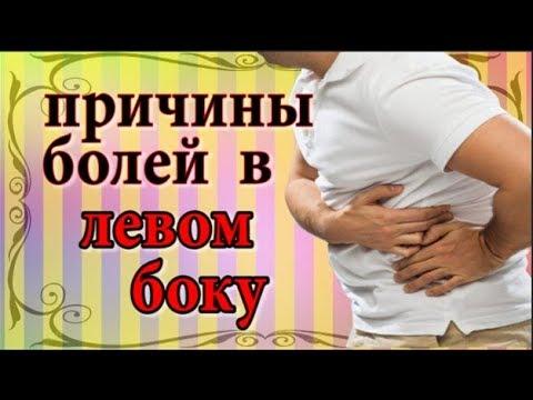 Какой орган может болеть в левом боку