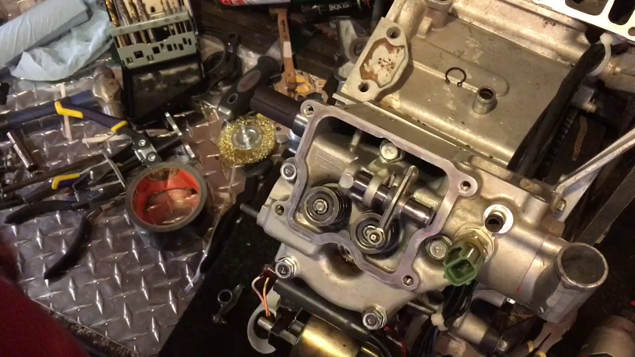 Kawasaki FD620D Engine Re-Assembly