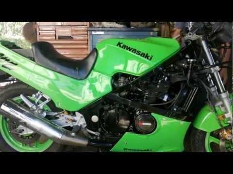 Kawasaki Gpz 400cc 1989 Model Customed By Asbarworks Custom Bikes