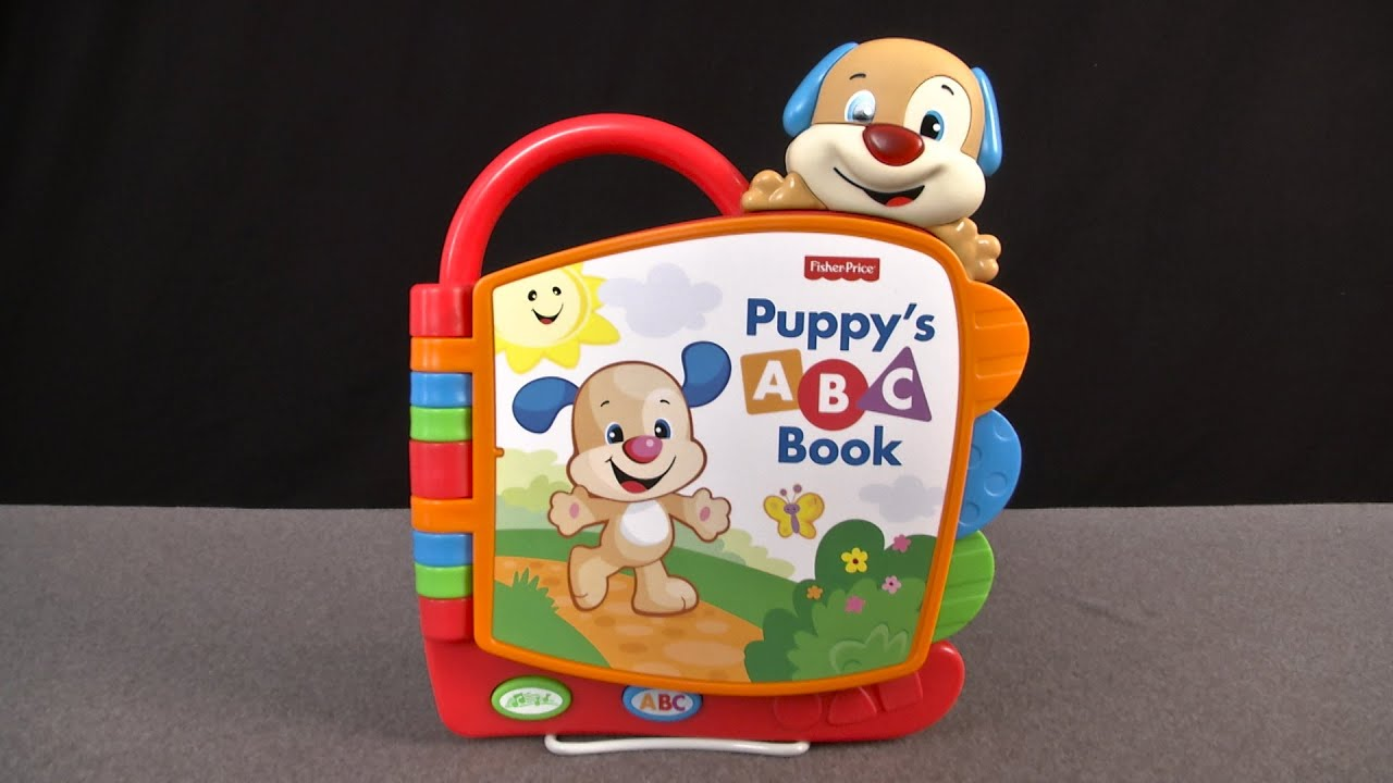 Laugh and Learn Puppy s ABC Book from Fisher Price