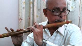 Patil flutist - Aanewala Pal Janewala Hai  Instrumental Cover on Flute by Balakrishna Patil