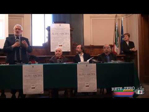 ALFIO ARCIFA - RICONOSCIMENTO UFFICIALE DEL COMUNE DI RIETI