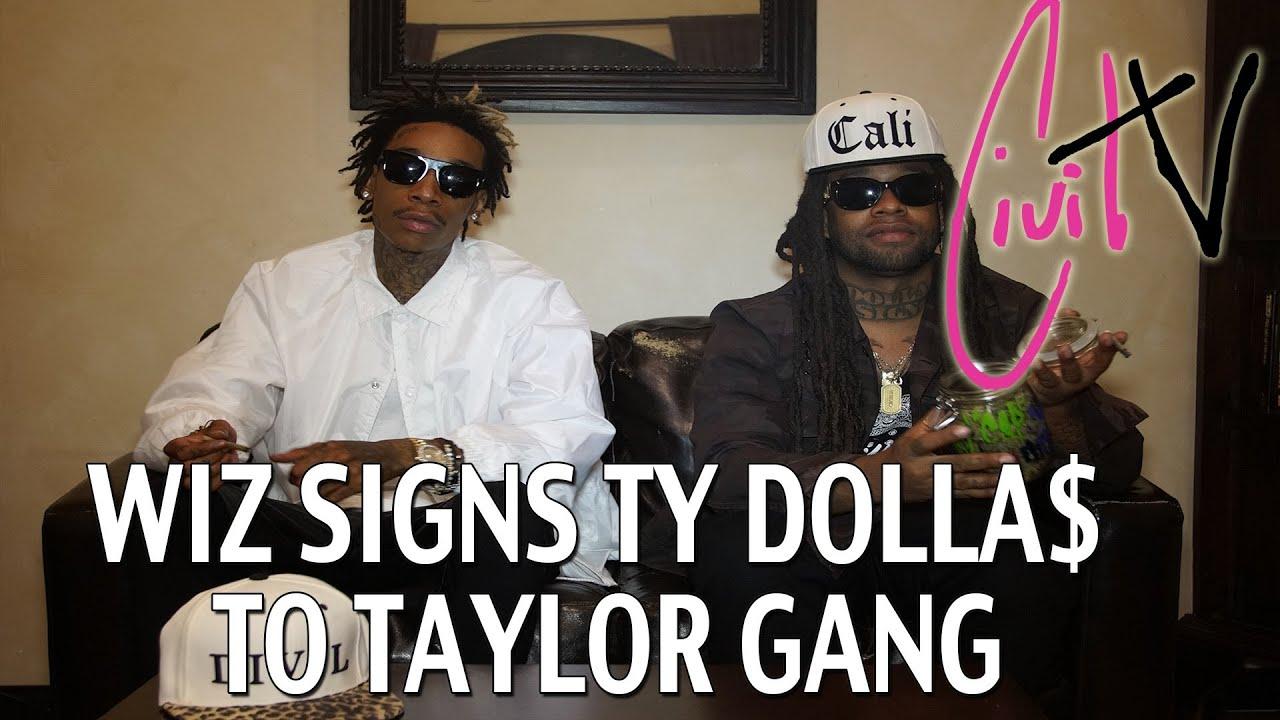 Wiz Khalifa Signs Ty Dolla Sign To Taylor Gang