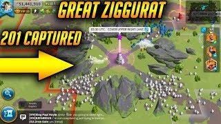 Kingdom 201 Captures Ziggurat in LK118   Rise of Kingdoms