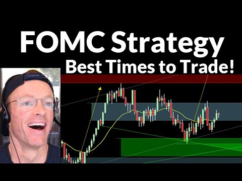 Best Times to Trade FOMC | Crude Oil, Emini S&P, Nasdaq, Gold