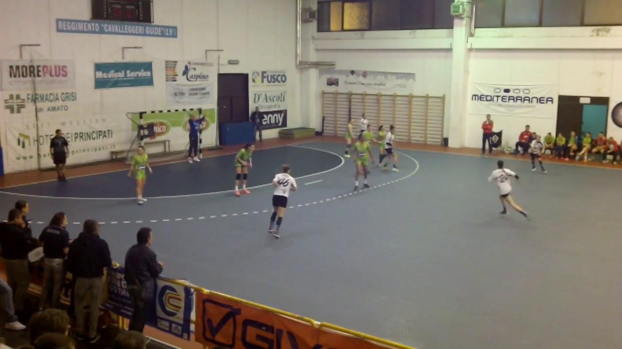 Serie A1F [7^]: Salerno - Brescia 25-18