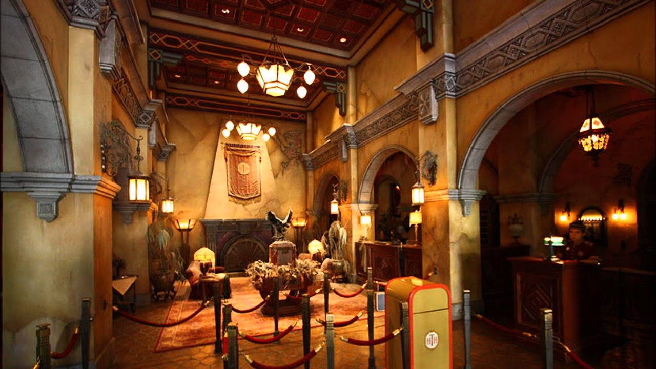 Musique d'ambiance Disneyland Paris ~ Tower of Terror ~ We ... Hollywood Tower Of Terror Inside