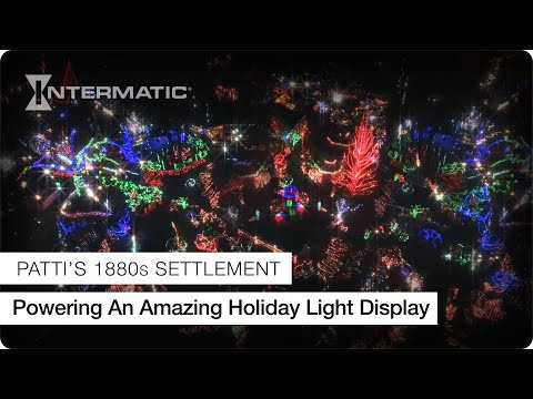 Patti's 1880s Settlement Uses Intermatic Timers To Shine During The Holiday Season