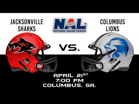 Jacksonville Sharks vs Columbus Lions
