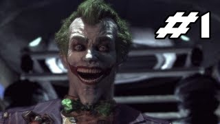 BATMAN Arkham Asylum Gameplay Walkthrough - Part 1 - Welcome to the Madhouse  (Let's Play) thumbnail