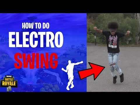 HOW TO DO ELECTRO SWING from Fortnite in Real Life