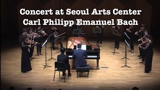 C.P.E. Bach Keyboard Concerto in D Major Wq.43/2 Pianist Jongdo An