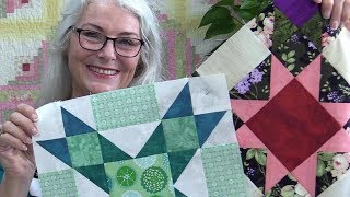 Rainbow Sorbet Block of the Month for Oct #10