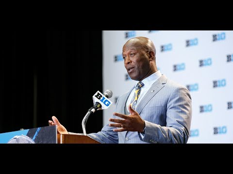 Lovie Smith Big Ten Media Day Press Conference 7/24/17