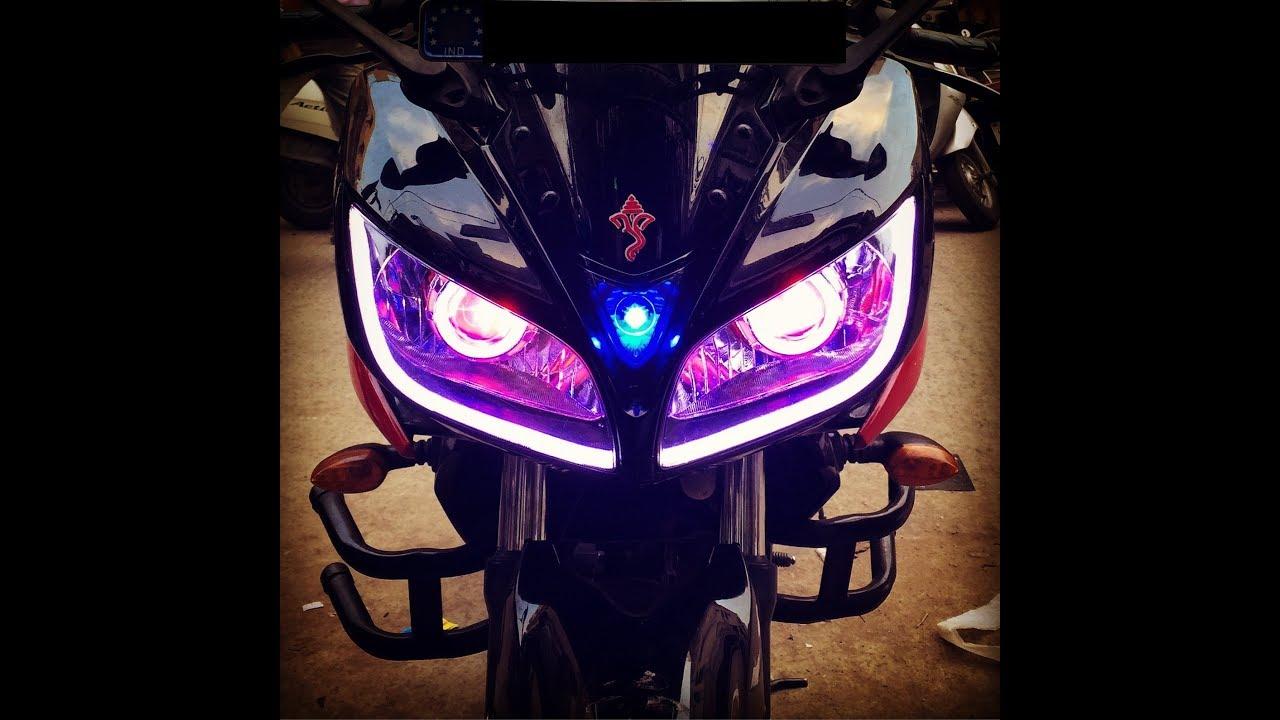 Yamaha fazer headlight modified r15 fazer headlight modification