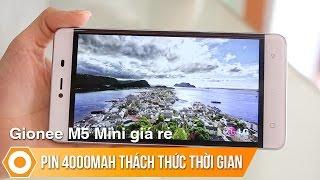 Gionee M5 Mini giá rẻ - Pin 4000mAh thách thức thời gian