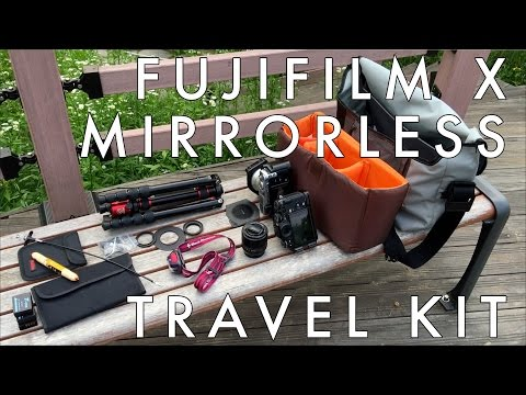 What's in My Bag (and Why) – Fujifilm Mirrorless Landscape and Travel Photography Kit