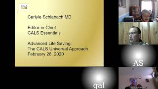 26/02/2020- The universal approach to Emergency care Dr. Schlabach