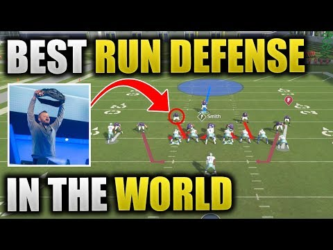 SIMPLE RUN DEFENSE THAT PRO PLAYERS USE | Madden 20 Run Defense | How To Stop The Run In Madden 20