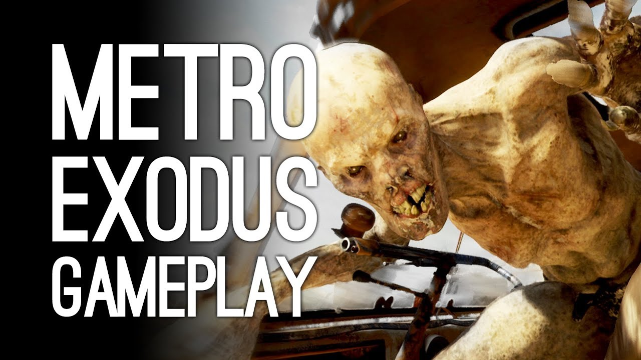 Metro Exodus Gameplay - Let's Play Metro Exodus Summer Open World - MIKE VS HENCH GOLLUMS
