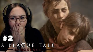 OMG RUN!!! - Let's Play: A Plague Tale: Innocence PS4 Gameplay Walkthrough Part 2