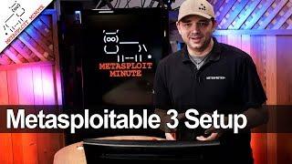 How to setup Metasploitable 3 - Metasploit Minute