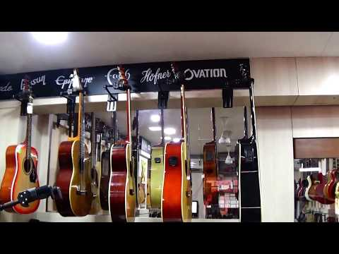Glimpse Of Some Famous Acoustic Guitars...From Mumbai, India.