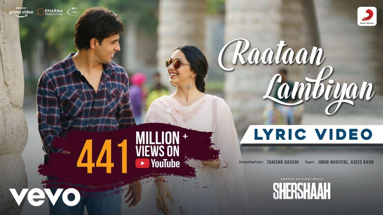 Download Raataan Lambiyan - Lyric Video|Shershaah|Sidharth – Kiara|Tanishk B.|Jubin|Asees