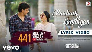 Raataan Lambiyan - Lyric Video|Shershaah|Sidharth – Kiara|Tanishk B.|Jubin|Asees