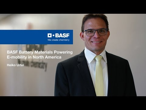 BASF Battery Materials Powering E-mobility In North America