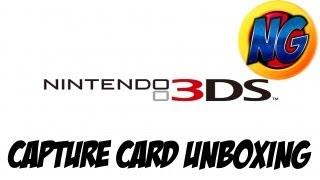 Nintendo 3DS Capture Card Unboxing
