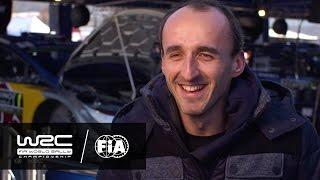 WRC - Rallye Monte-Carlo 2017: INTERVIEW Robert Kubica | FIA World Rally Championship