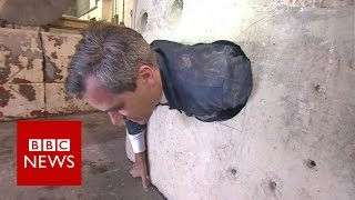 BBC man stuck trying Hatton Gardens vault hole - BBC News