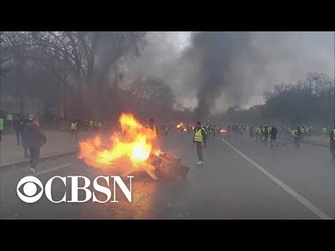 New protests escalate across France