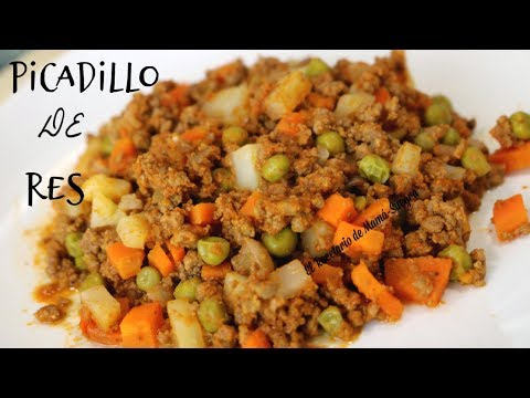 Picadillo De Carne Molida