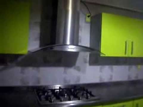 Cocina Con Cubierta De Concreto Modernizada 50875757