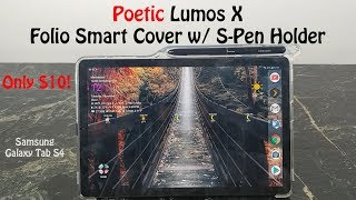 Poetic Lumos X Case Review : Samsung Galaxy Tab S4