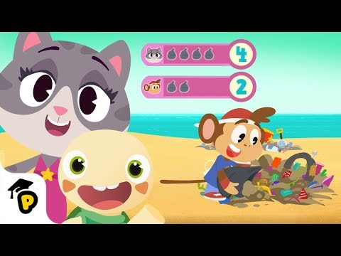 Toto's Trash Quest | Learn About Quantity | Kids Learning Cartoon | Dr. Panda TotoTime | Season 3