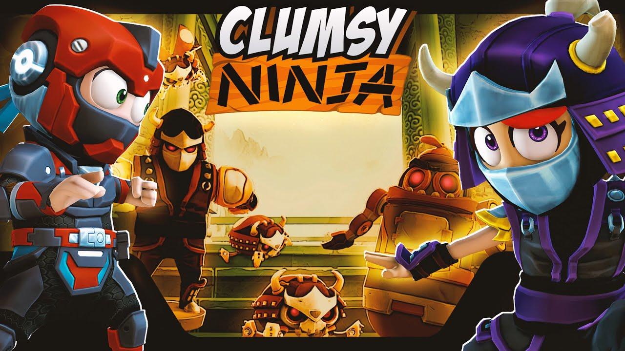 Clumsy Ninja - Robot Invasion!