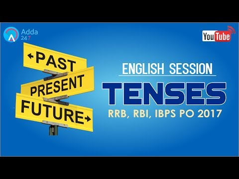 Tenses | English for SSC CGL 2017