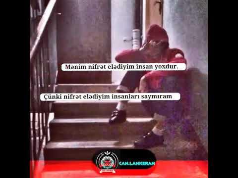 WhatsApp status üçün video.  Mənim nifrət elədiyim insan yoxdu!.