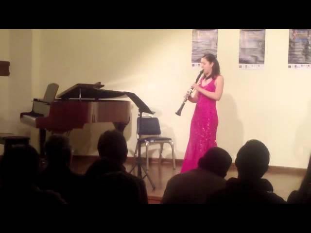 Atehortua: Tres Piezas para Clarinete Solo