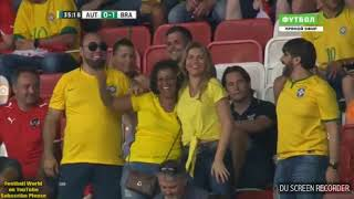 Austria vs Brazil Friendly Match Goals and Highlights G.Jesus, Neymar Jr and Ph.Coutinho