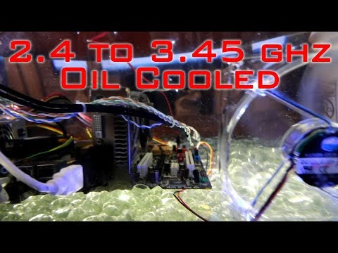 Overclocked Mineral Oil Cooled Aquarium PC