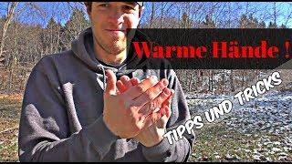 Nie mehr kalte Hände,Techniken um warm zu bleiben,Überleben extrem ohne Feuer Survival Training (4K)