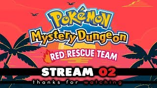 Pokemon Mystery Dungeon Red Rescue Team Full Play-through | Stream 02 | w/Supersalamence93