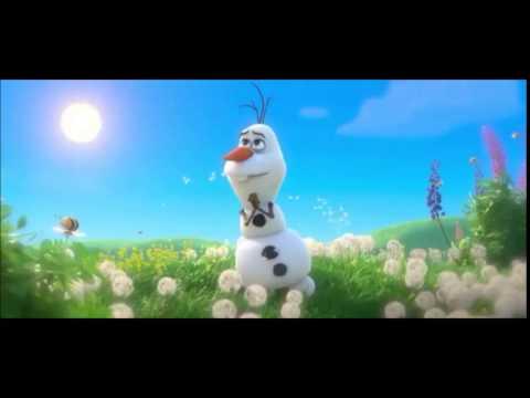 """Olaf... """" O que a Neve faz no Verão"""""""