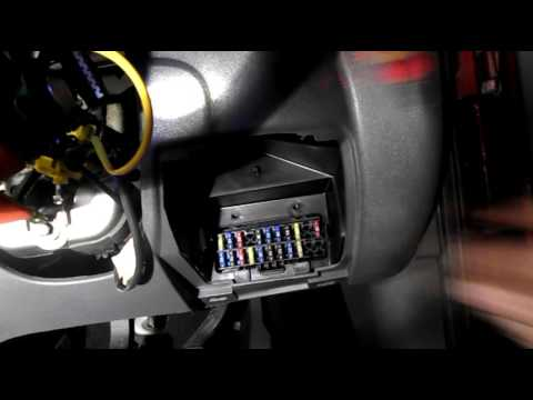 Where are the fuses located on a Ford Fiesta - YouTubeYouTube